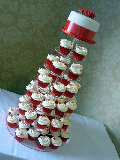 Wedding Cupcake Tower.