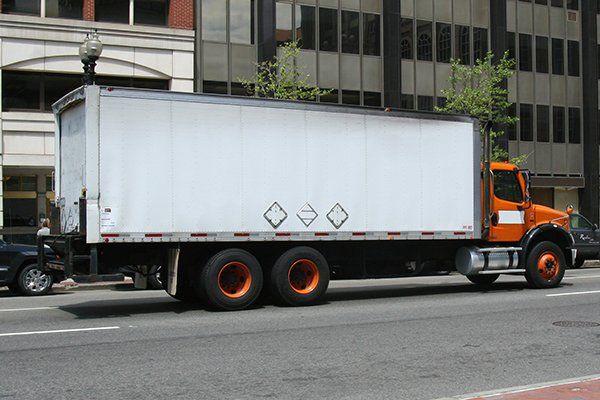 Camion di traslochi