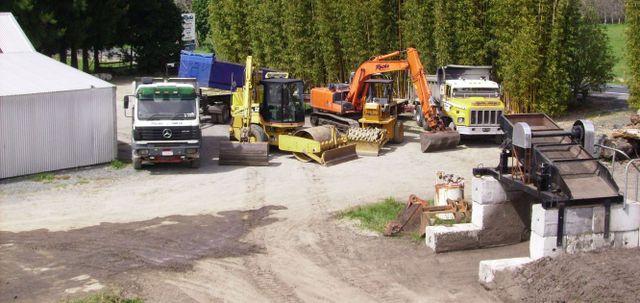 excavating equipment