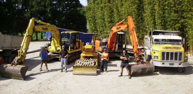 industrial excavation equipment in Albany