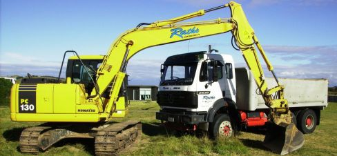 equipment used by Albany earthmoving services