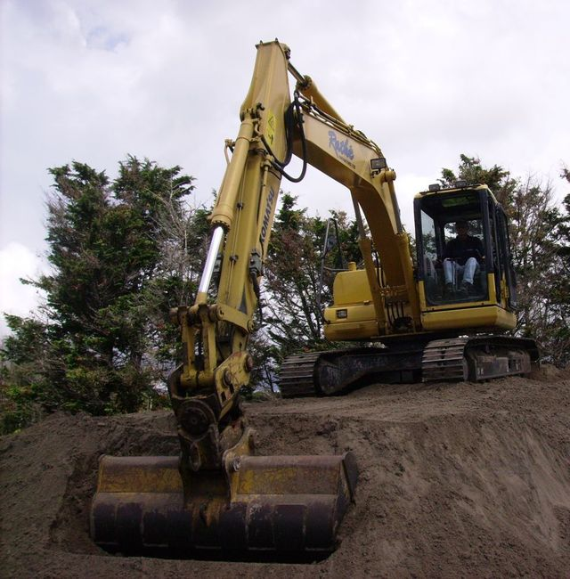 earthmoving machine in Albany