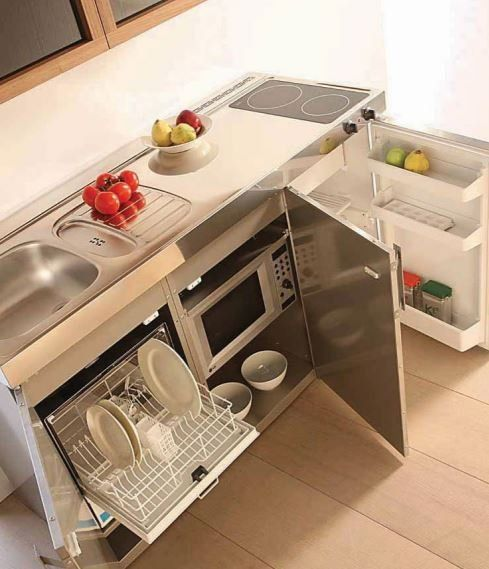 Progettiamo cucine compatte - Bergamo - Italia - F.M. Progetto Cucina