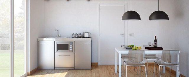 Wir entwerfen Kompaktküchen - Bergamo - Italien - F.M. ...