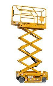 advanced heavy vehicle driver training centre mechanical scissor ladder