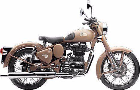 Royal Enfield Desert Storm Motorcycle Rental in Ireland