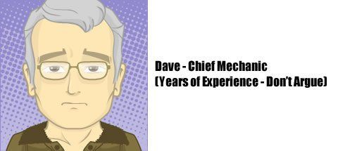 Dave - Master Mechanic at RetroVentures