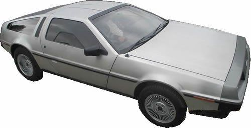 DeLorean DMC-12 Classic Car Rental in Ireland - Car Details
