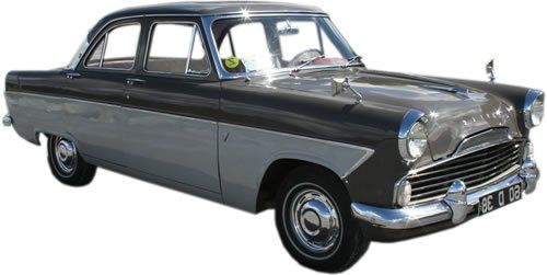 Ford Zodiac Classic Car Rental in Ireland - Car Details
