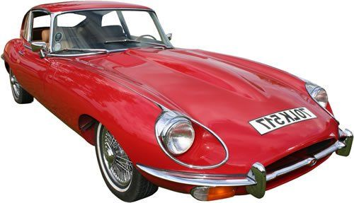 Jaguar E-type Classic Car Rental in Ireland - Car Details