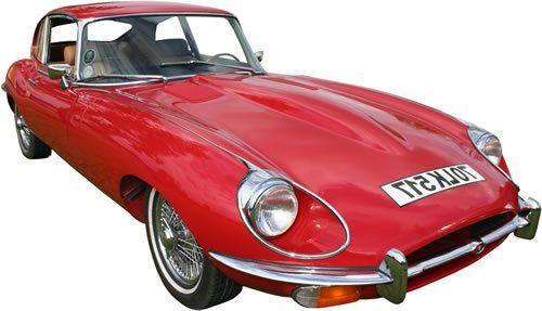 Jaguar E-type Classic Car Rental in Ireland - Car Details