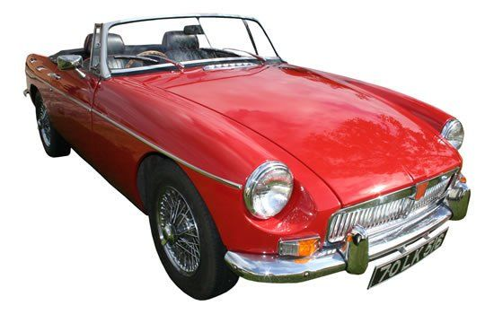MGB Roadster Rental in Ireland - Car Details