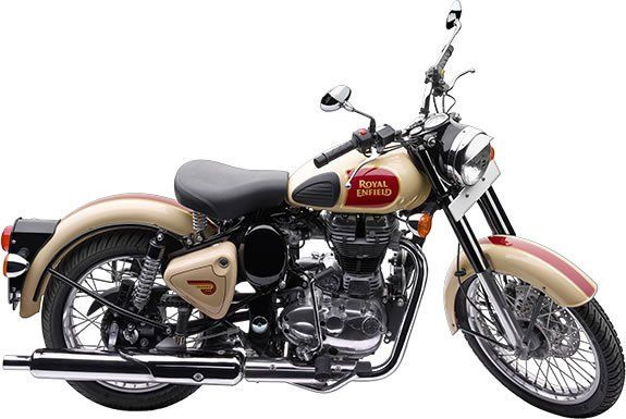 Royal Enfield Classic Tan Motorcycle Rental in Ireland