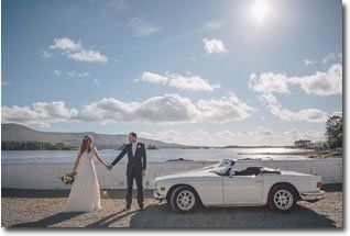 Self Drive Wedding Car - 1973 Triumph TR6 Cobh