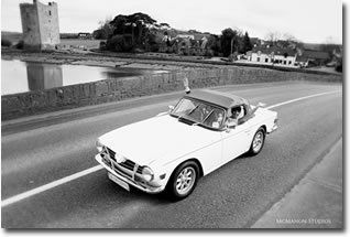 Self Drive Wedding Car - 1973 Triumph TR6