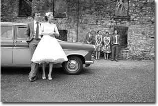 Self Drive Wedding Car - 1950s Style Rock and Roll