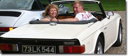 Triumph TR6 Classic Car Experience
