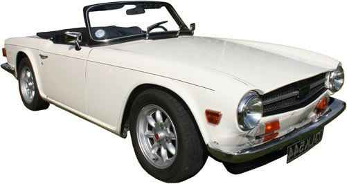 Triumph TR6 Classic Car Rental in Ireland - Car Details