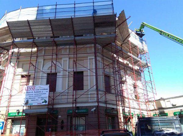 Villetta in costruzione a Mede