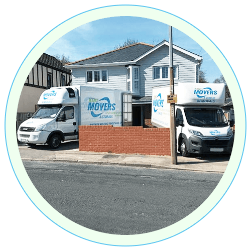 Kent Movers service vehicles