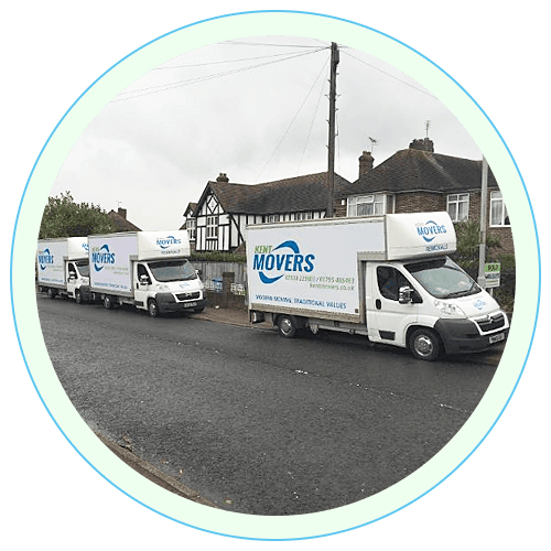 Kent Movers vehicles