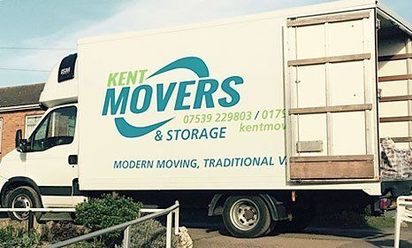 Kent Movers service vehicle