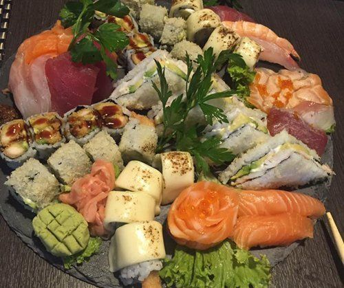 Sashimi e sushi