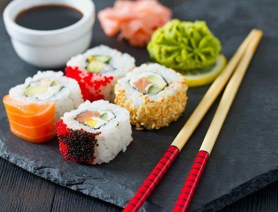 Piatto tradizionale giapponese