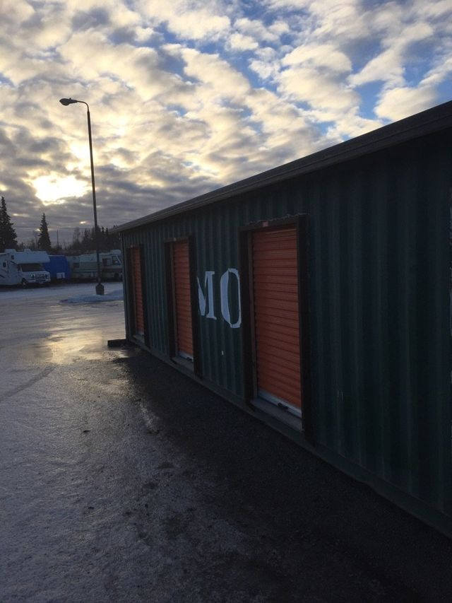Clean commercial storage in Anchorage, AK