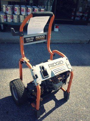 Pressure Washers for Rent!