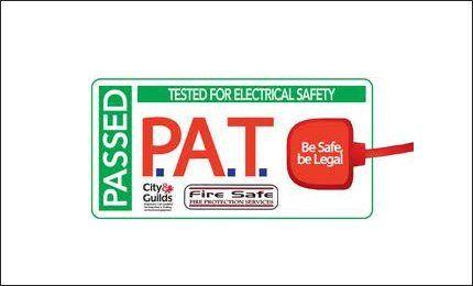 PAT testing logo