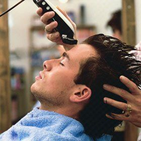 Hair cut - Bewdley, Worcestershire - Bewdley Cutting Room - Cutting
