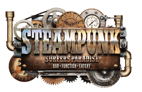 steampunk surfers paradise logo