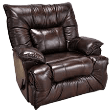 Square Recliner at Howdy Home Furniture