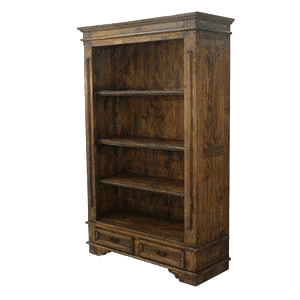 Rustic Book Shelf at Howdy Home Furniture