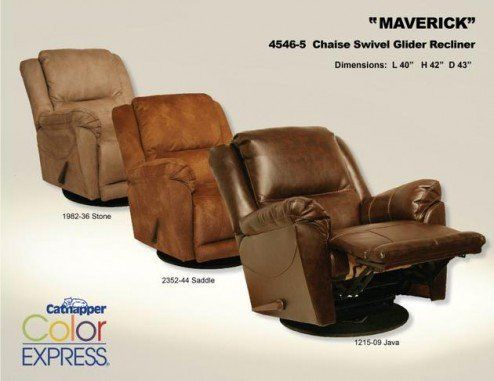 Maverick Recliners at Howdy Home Furniture