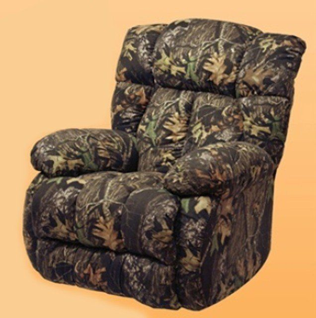 Camo Recliner at Howdy Home Furniture