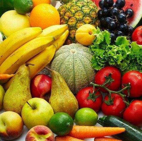Frutta e ortaggi vari