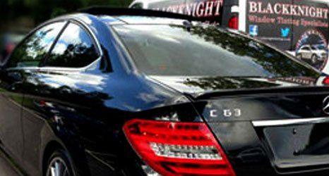 A black car