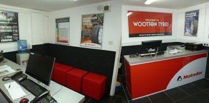 service centre interiors