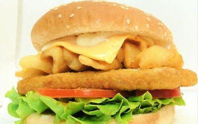 """/""""Happy Burger /'Porte-clé DEL torche KT00009626"""
