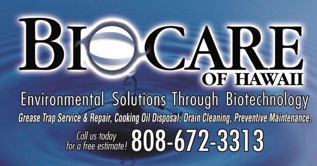 Bio Care offers environmental solutions for Honolulu, HI