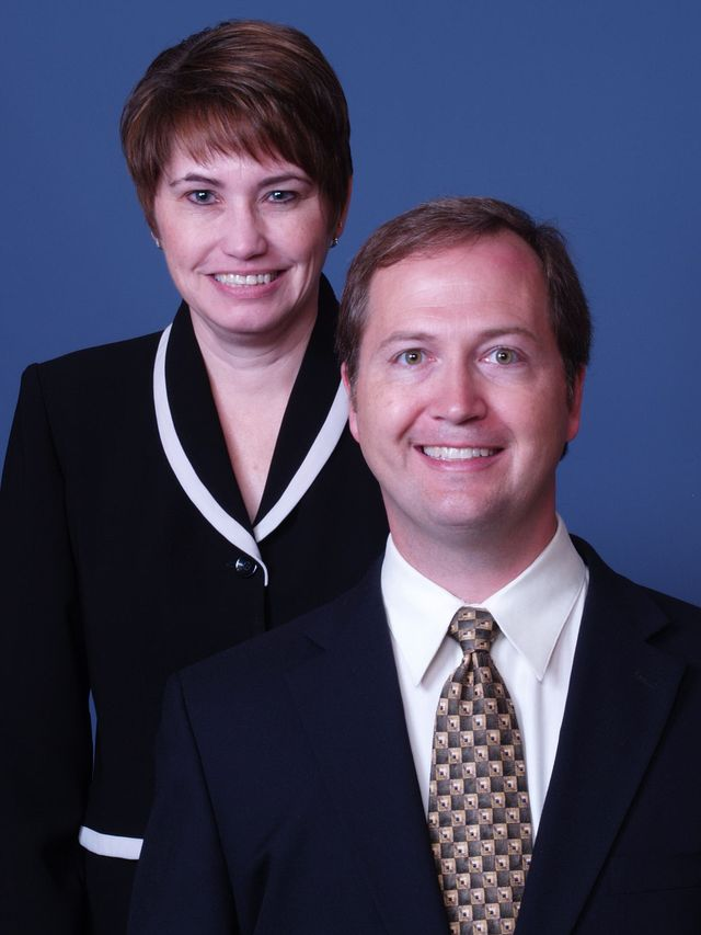 Couple discuss health insurance in High Point, NC