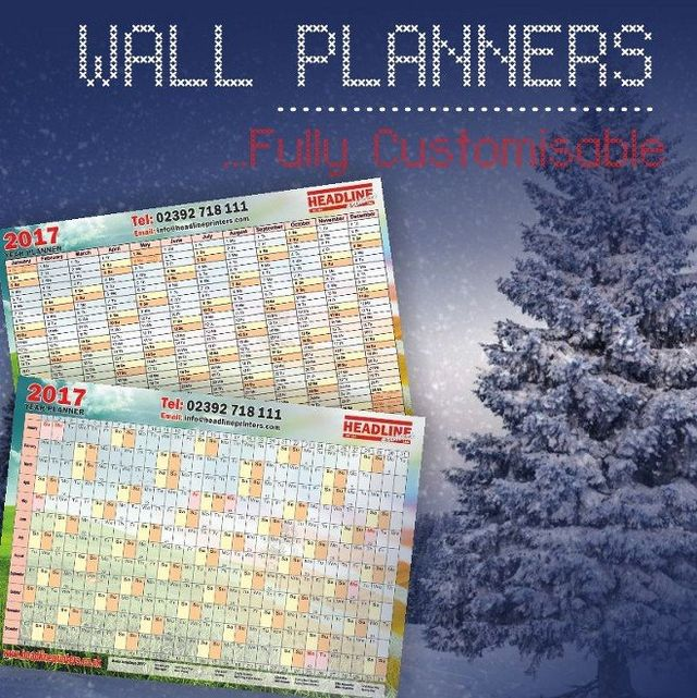 WALL PLANNERS graphic