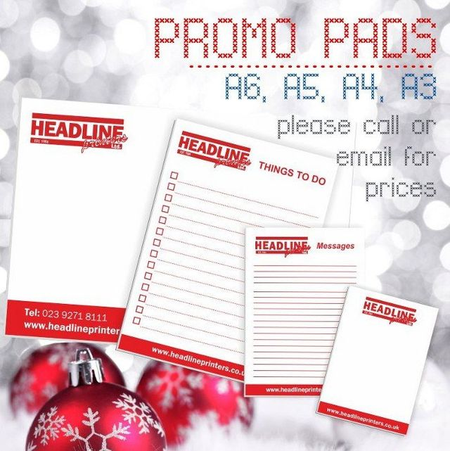 PROMO PADS graphic
