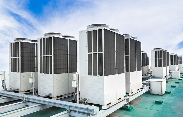 commercial air conditioning row of air conditioning units in orlando fl - Commercial Ac Units
