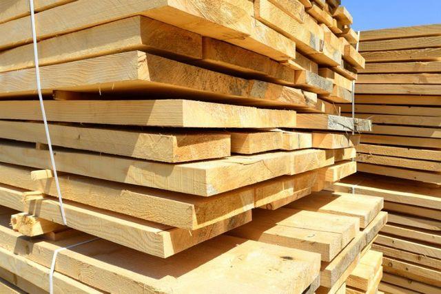 delle assi di legno