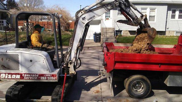Demolition and Excavation | East Moline, IL | Olson Concrete