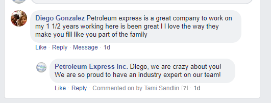Testimonial by employee Diego Gonzalez a petroleum driver in Houston, TX