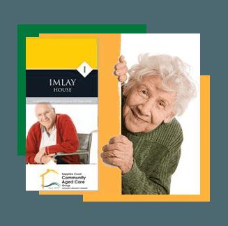 Brochure of Imlay house